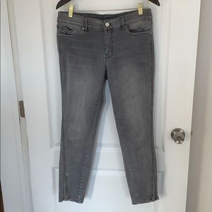 Women's Gray Ankle Jeans - Barely Worn